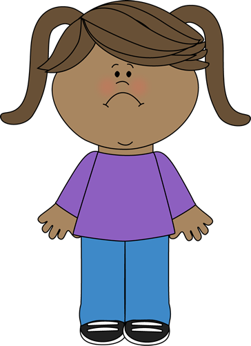 banner freeuse library sad girl clipart #64050371