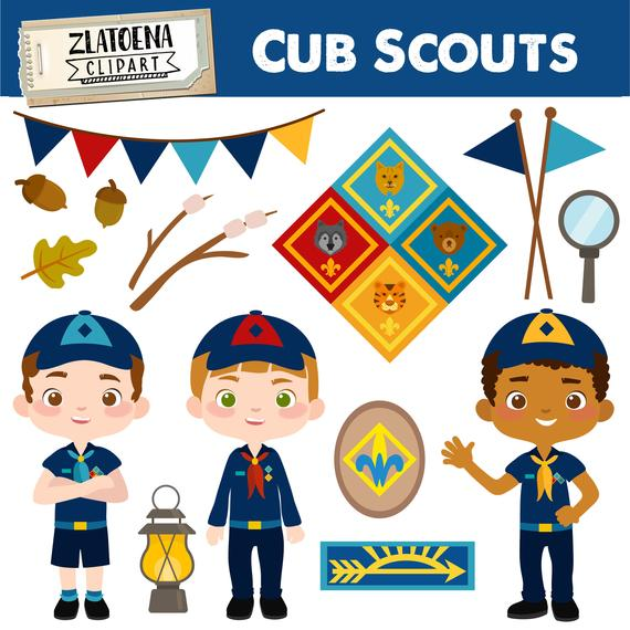 image royalty free library Cub scout clipart. Boy clip art camping