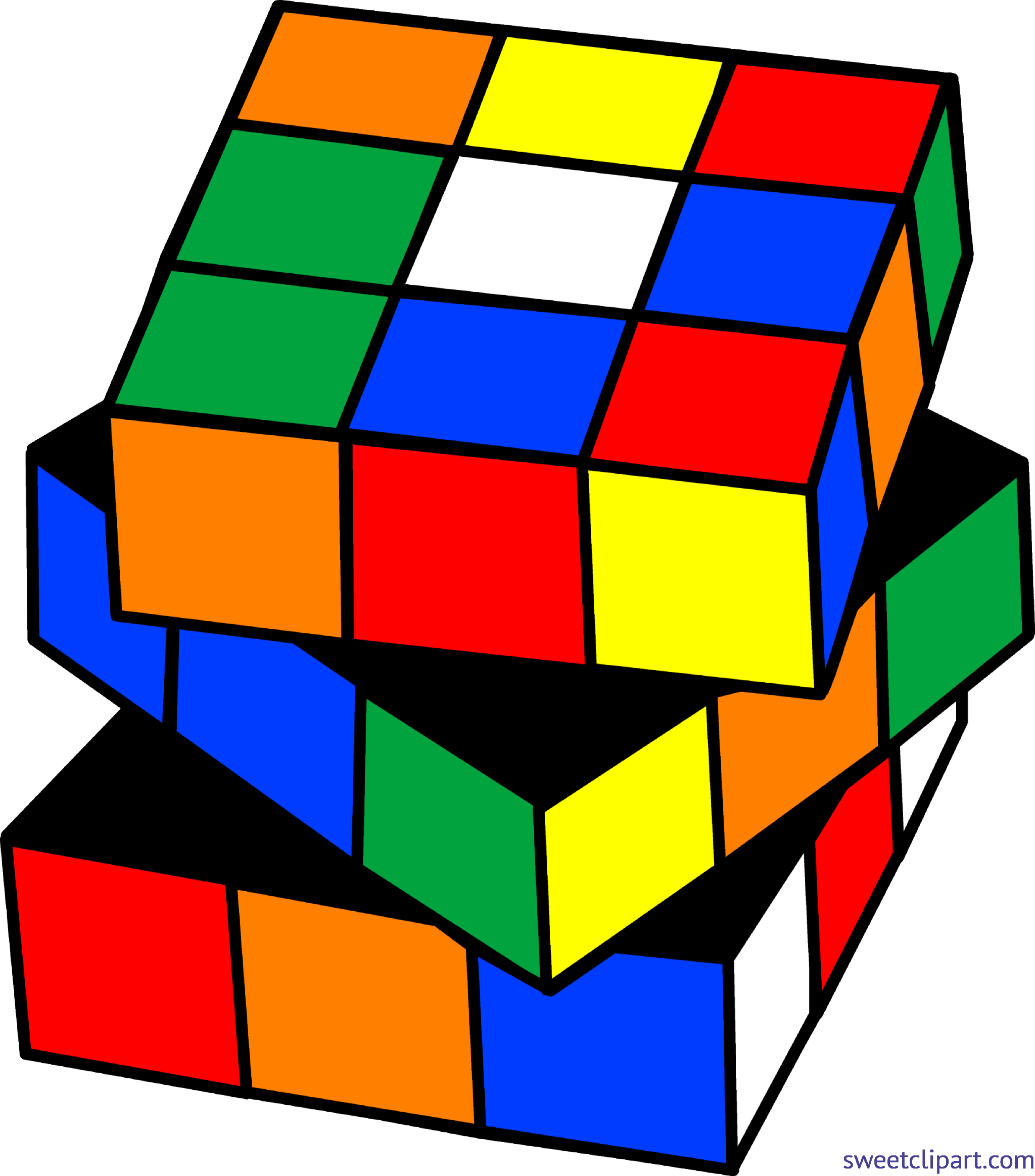 royalty free library Why clipart cubes. Rubix cube clip art