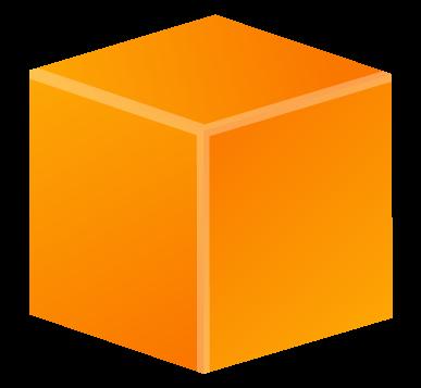 clip black and white stock cube transparent orange #92970533