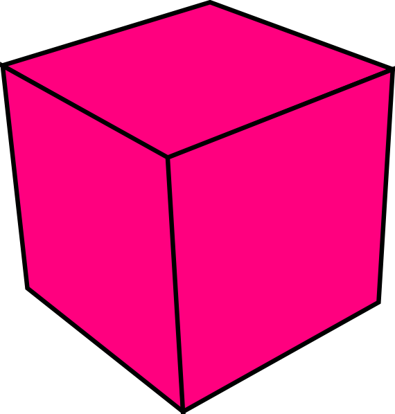 vector royalty free library Cube Clip Art at Clker