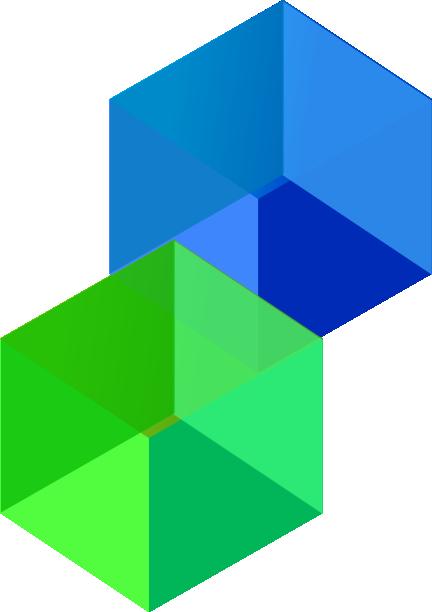 clip royalty free stock Cube transparent vector.  d cubes clip