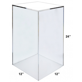 banner transparent library cube transparent acrylic #92966768