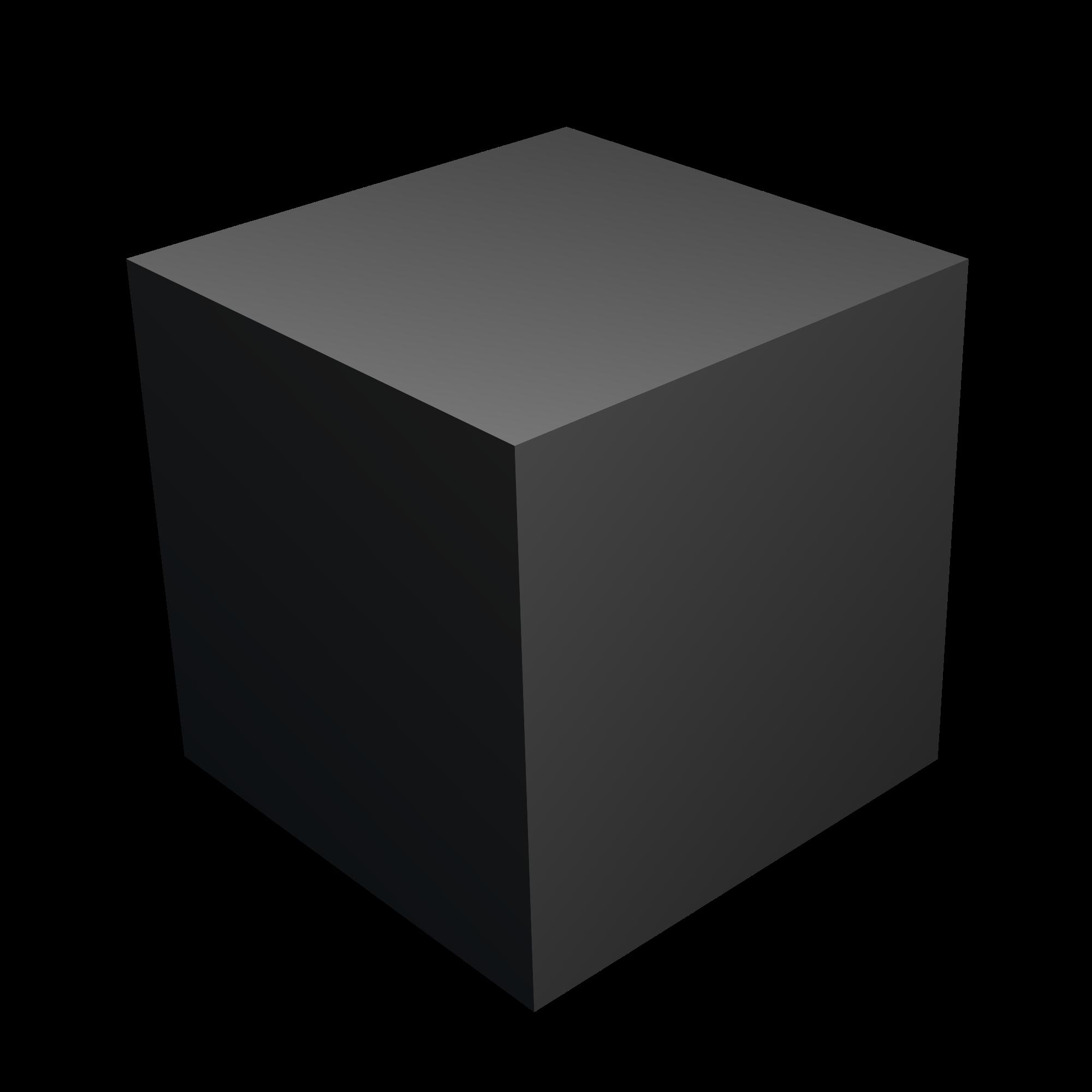 black and white cube transparent blender #92968005