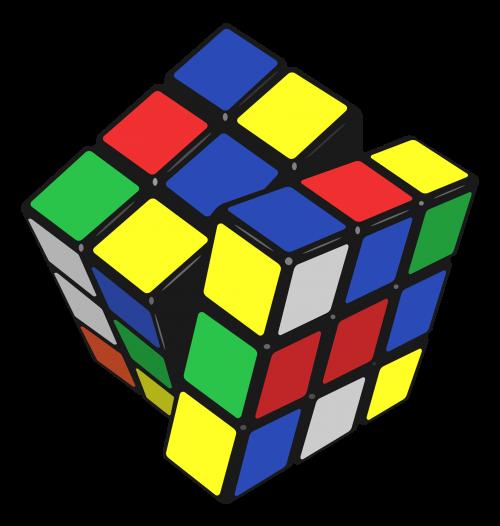 graphic cube transparent rubik's #92959991