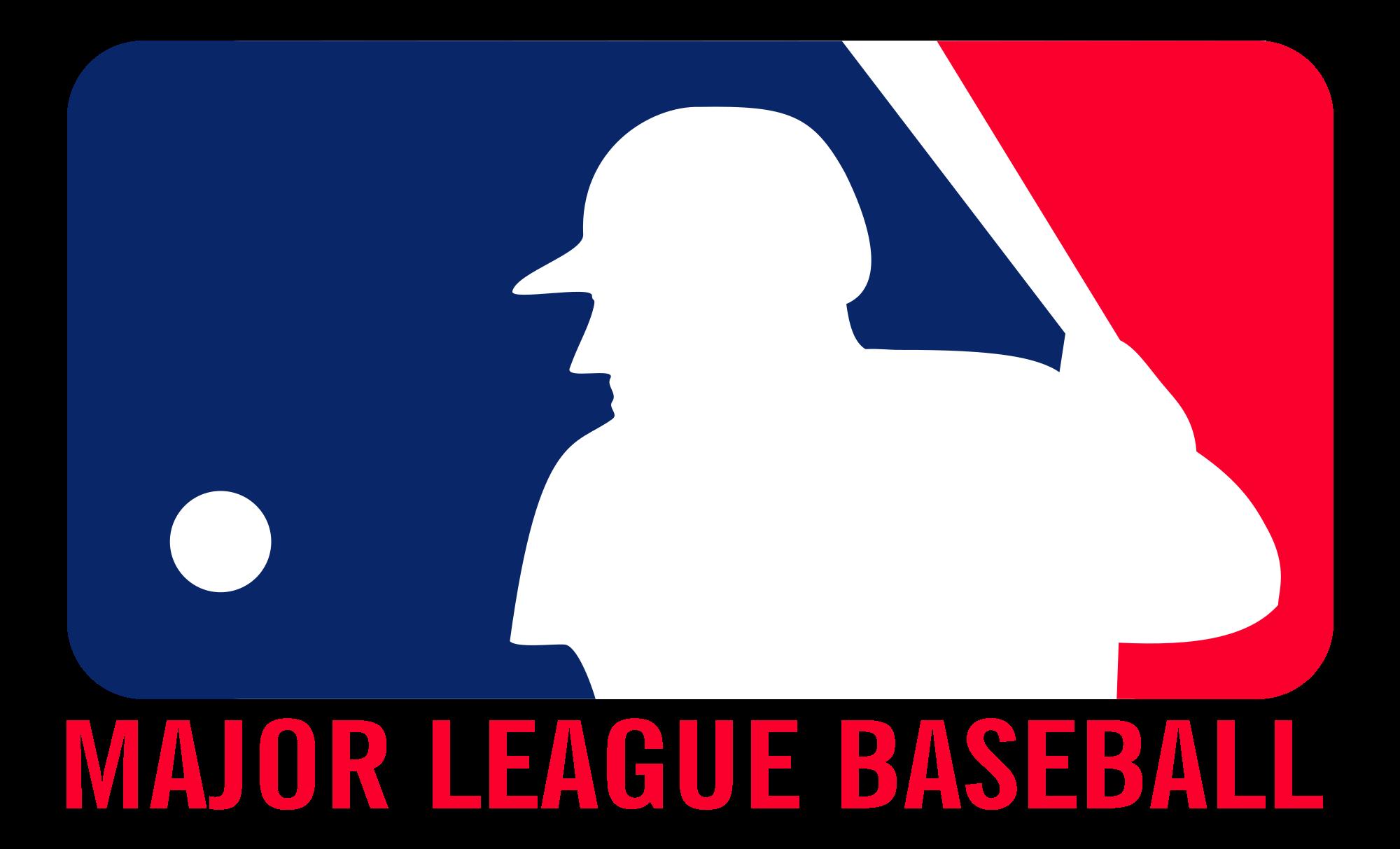clip art royalty free library Datei major league logo. Svg baseball life