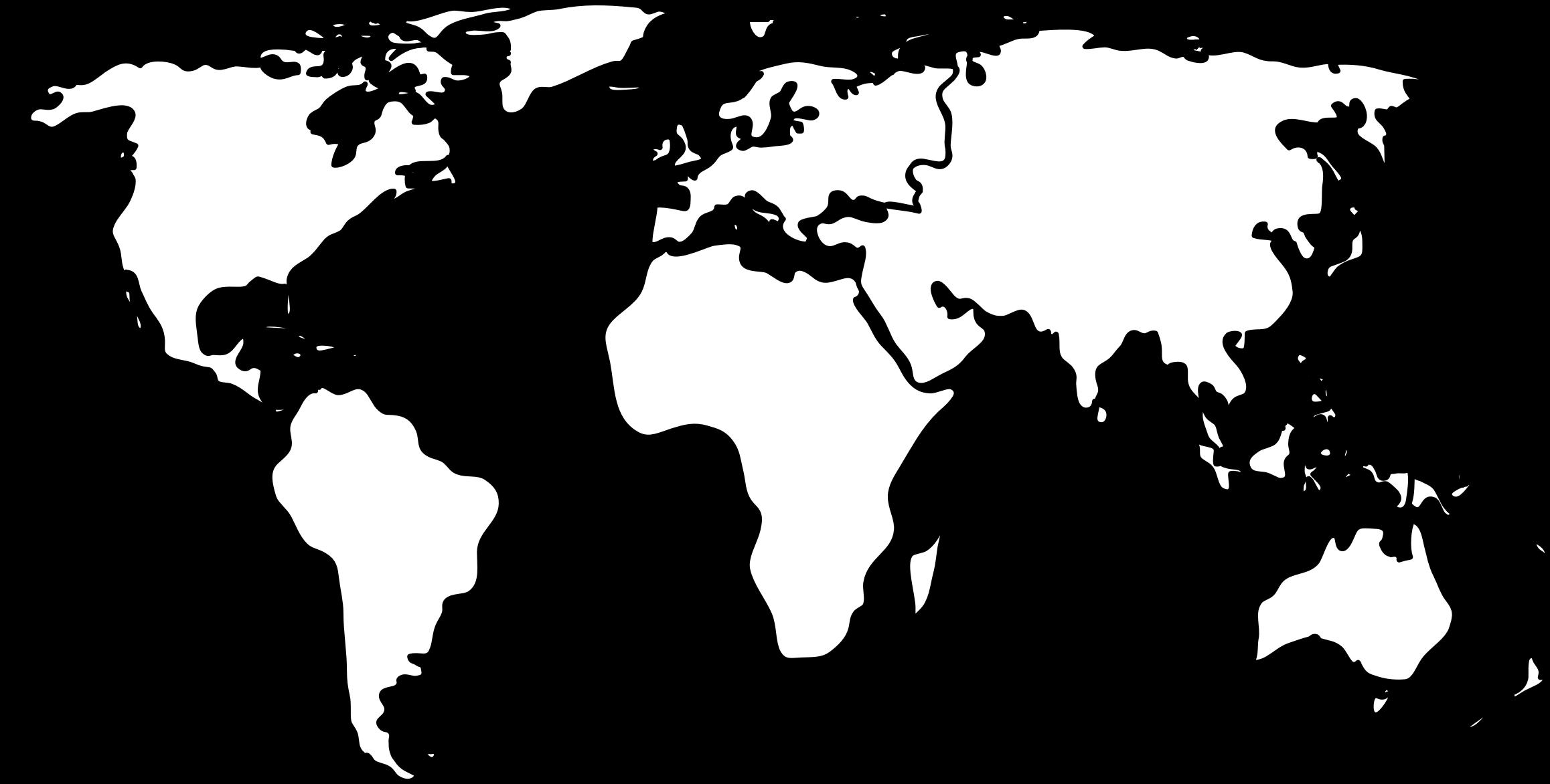 clip art transparent World Map By Jkarthik