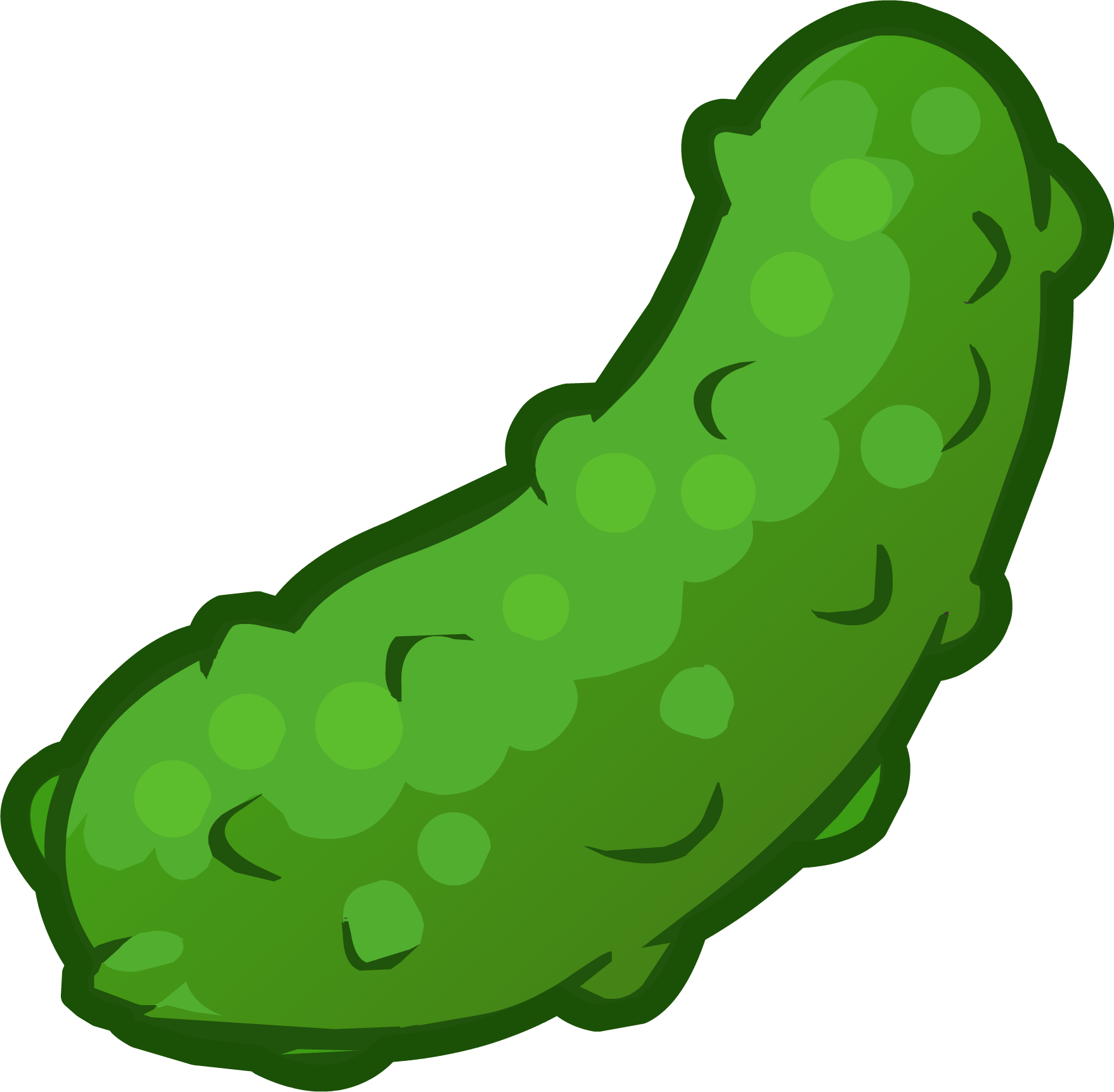 clipart freeuse Pickle drawing at getdrawings. Pickles clipart coloring page