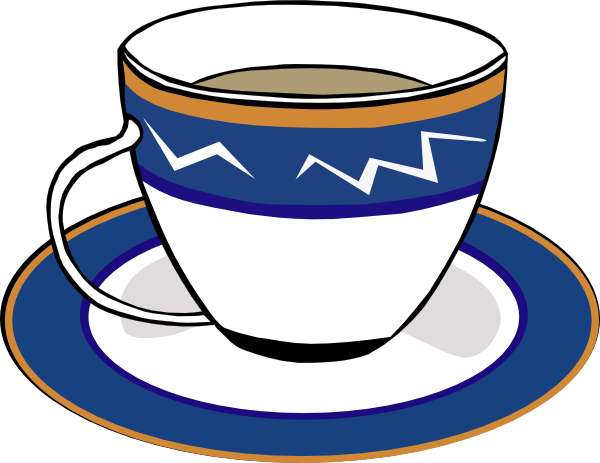 banner transparent library Clipart coffee shop. A cup and dish