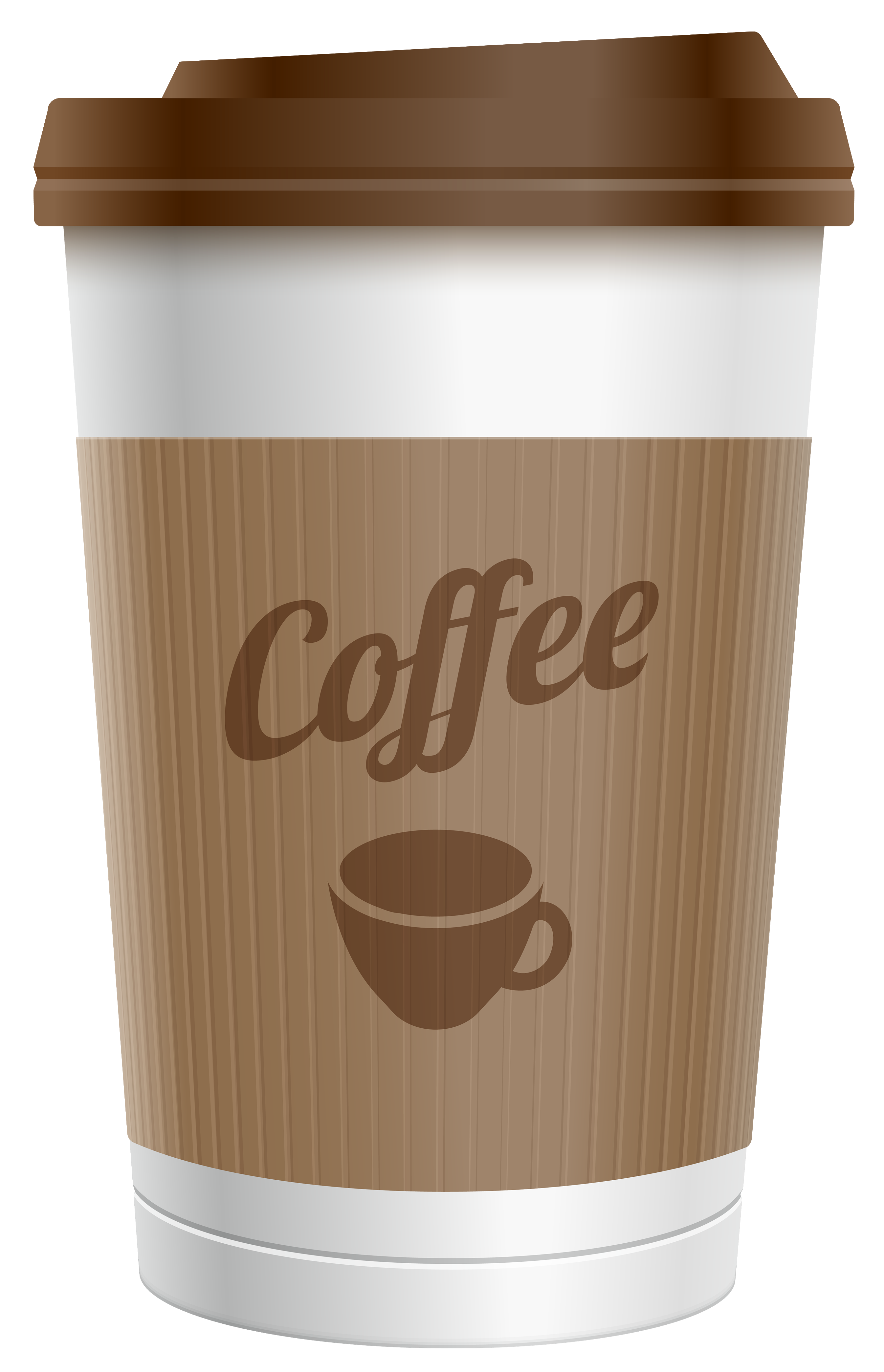 clip art black and white stock Plastic cup png image. Coffee to go clipart