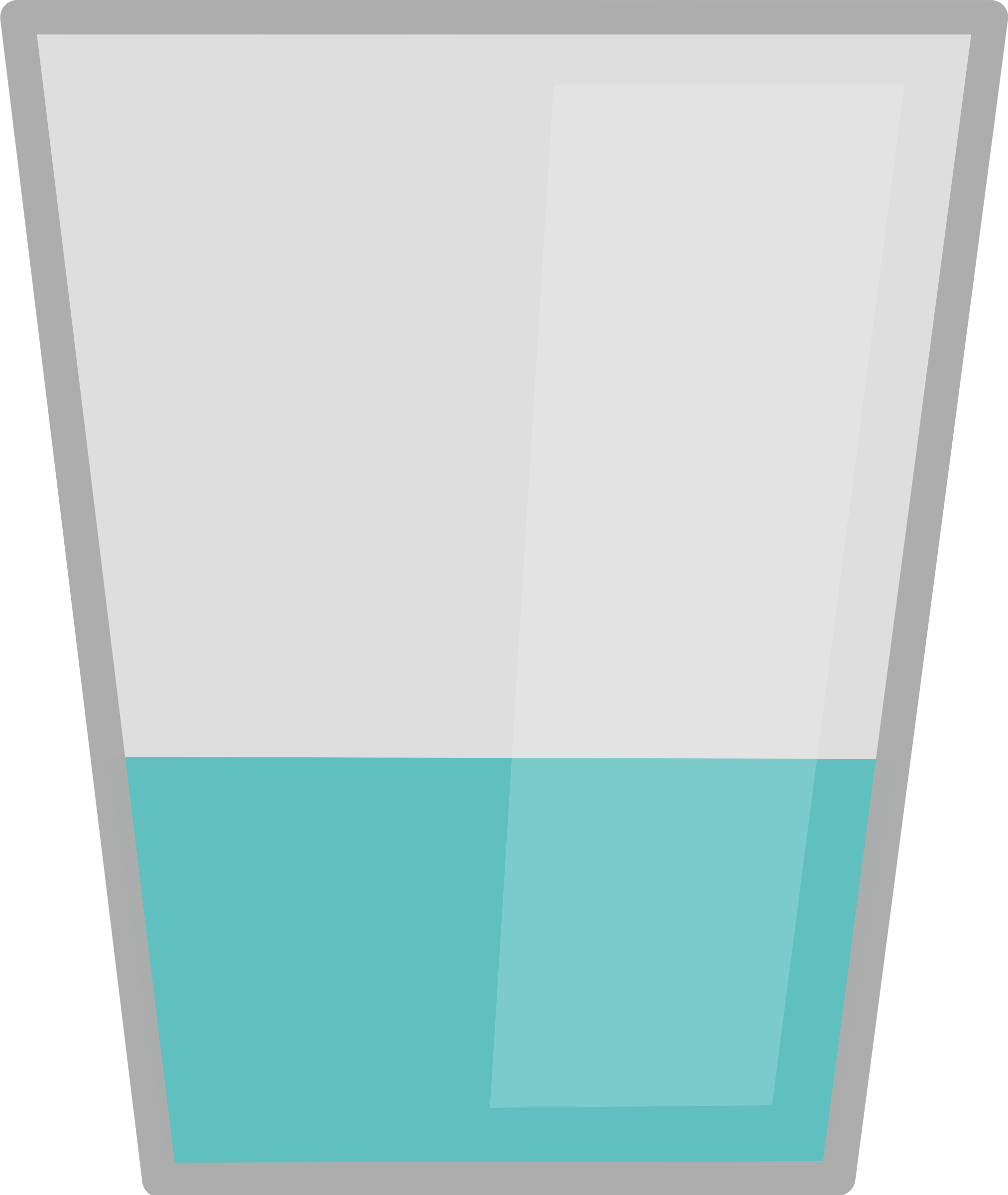 picture black and white Clipart glass of water. Transparent ice translucent