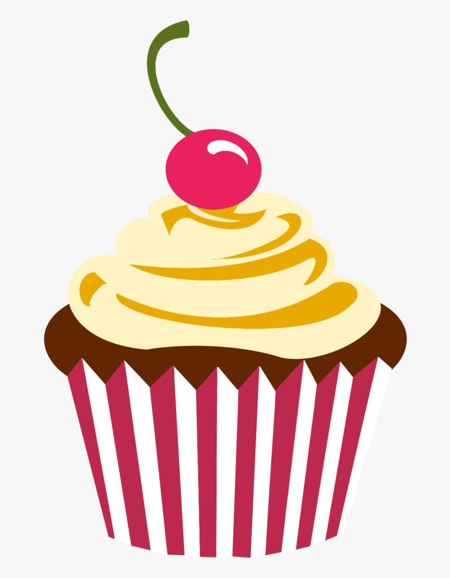 vector transparent Cupcake clipart. Panda cute logo png.