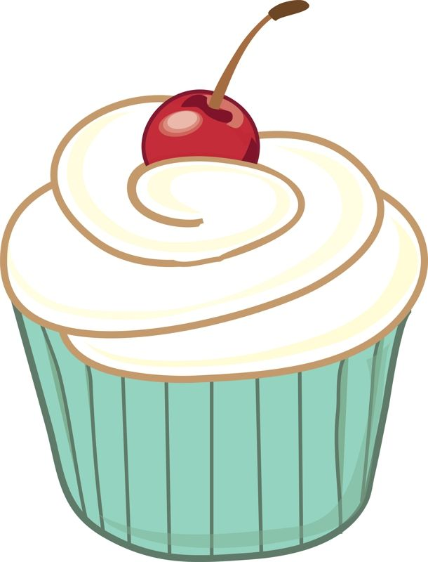 picture black and white Cupcake clipart. Free large images digital