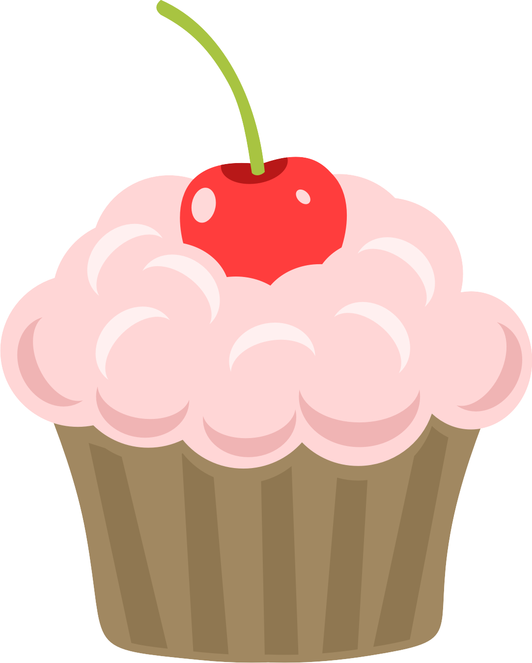 clipart free library Cupcake with candle clipart. M s imprimibles gratuitos.