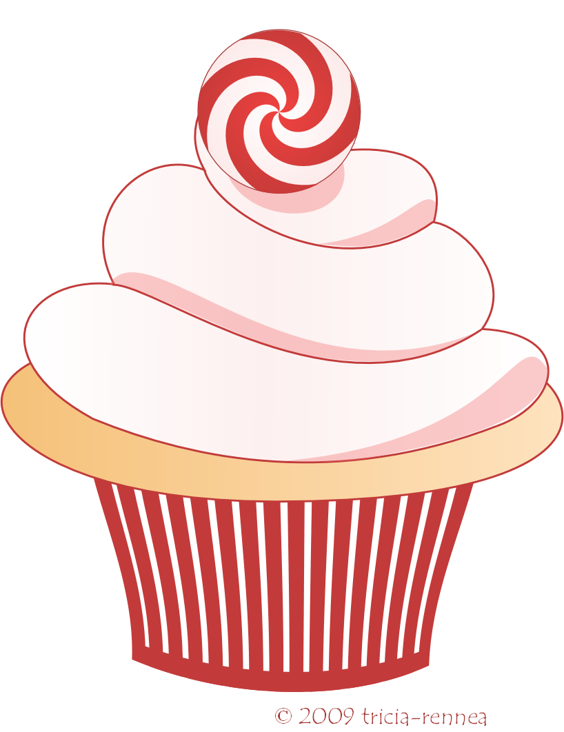 jpg black and white library Cupcakes clipart. Cupcake free download panda.