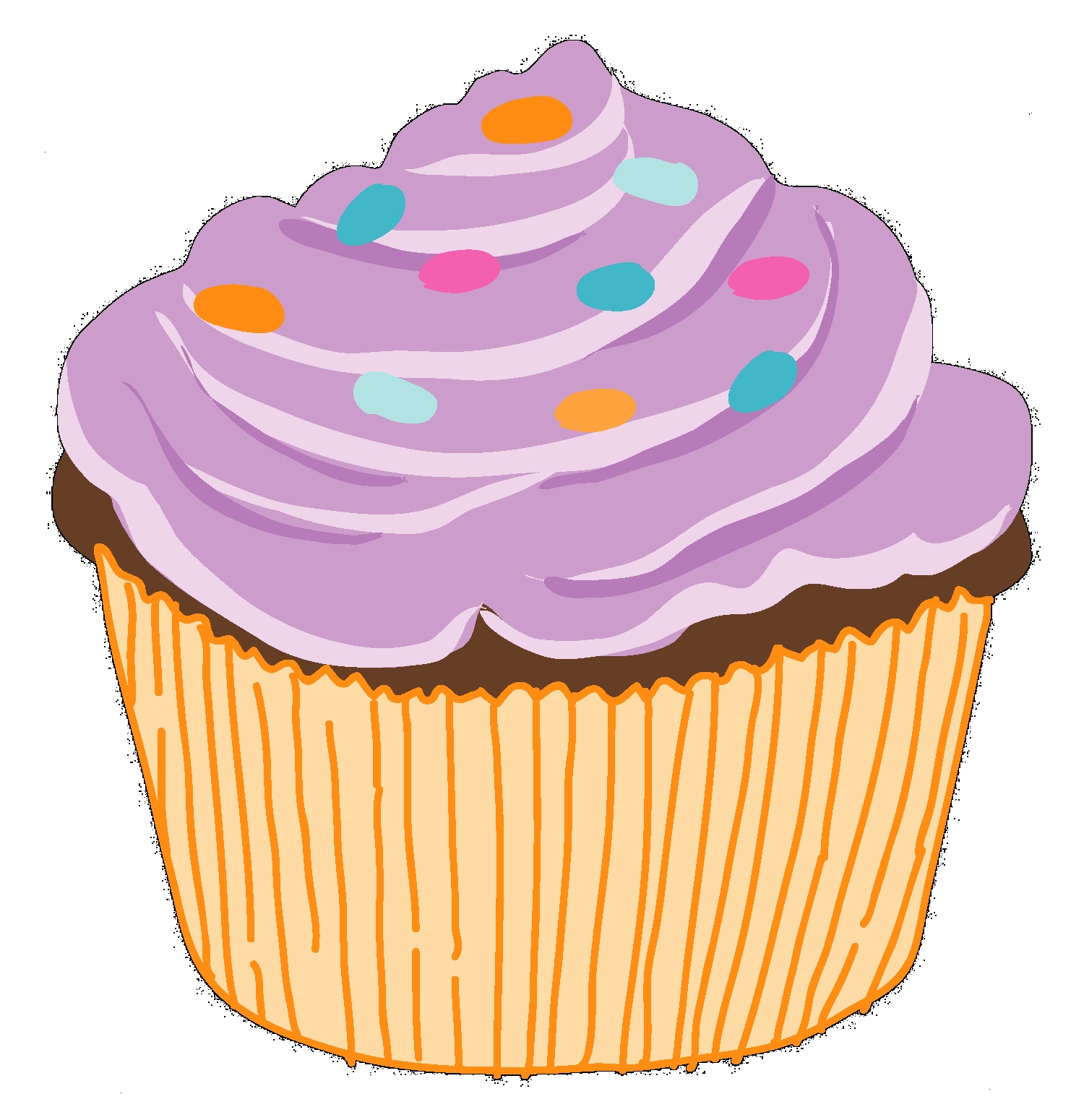 clip art royalty free download Free cupcake cliparts download. Cupcakes clipart