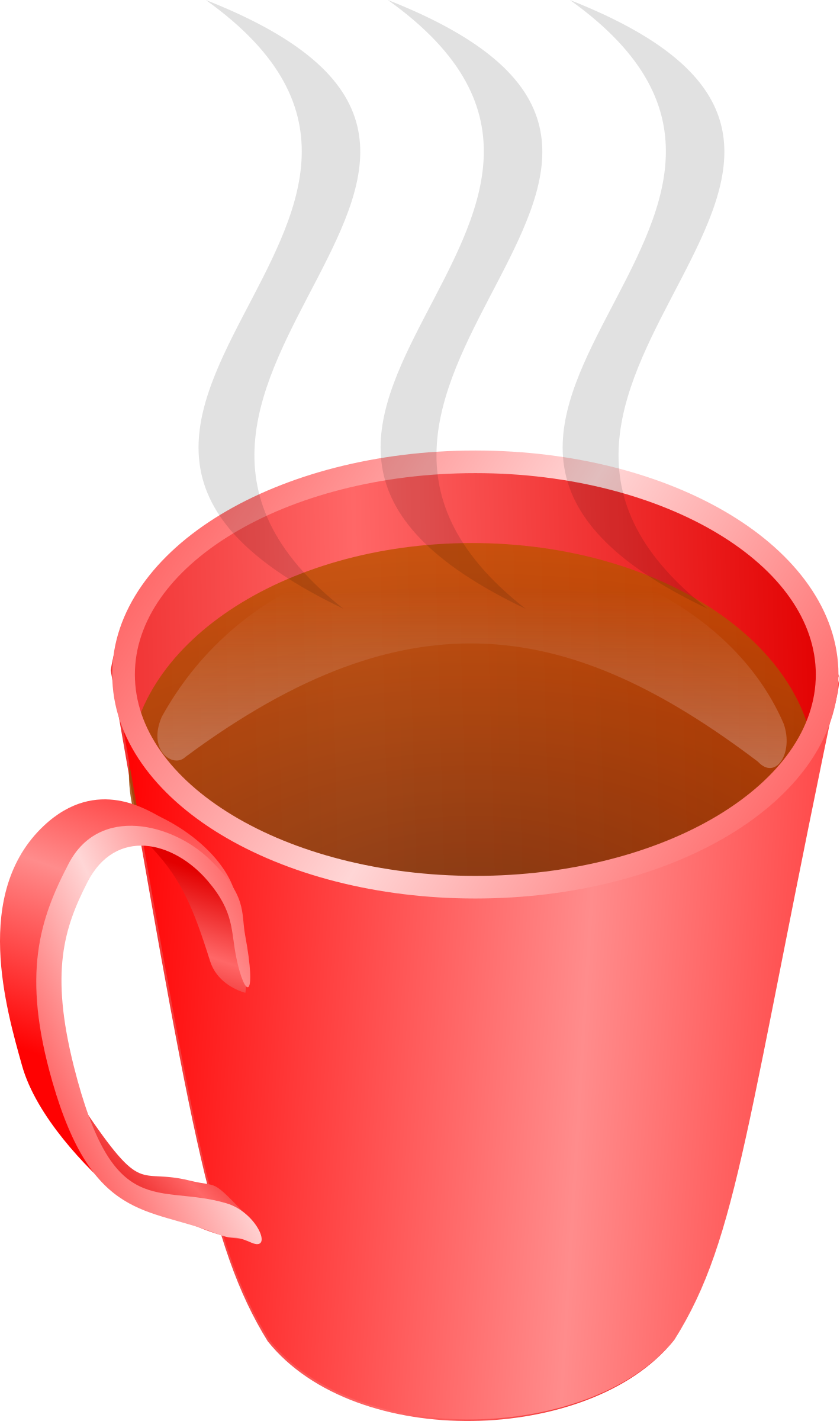 clip royalty free download A cup of tea. Cups clipart anthropomorphic.