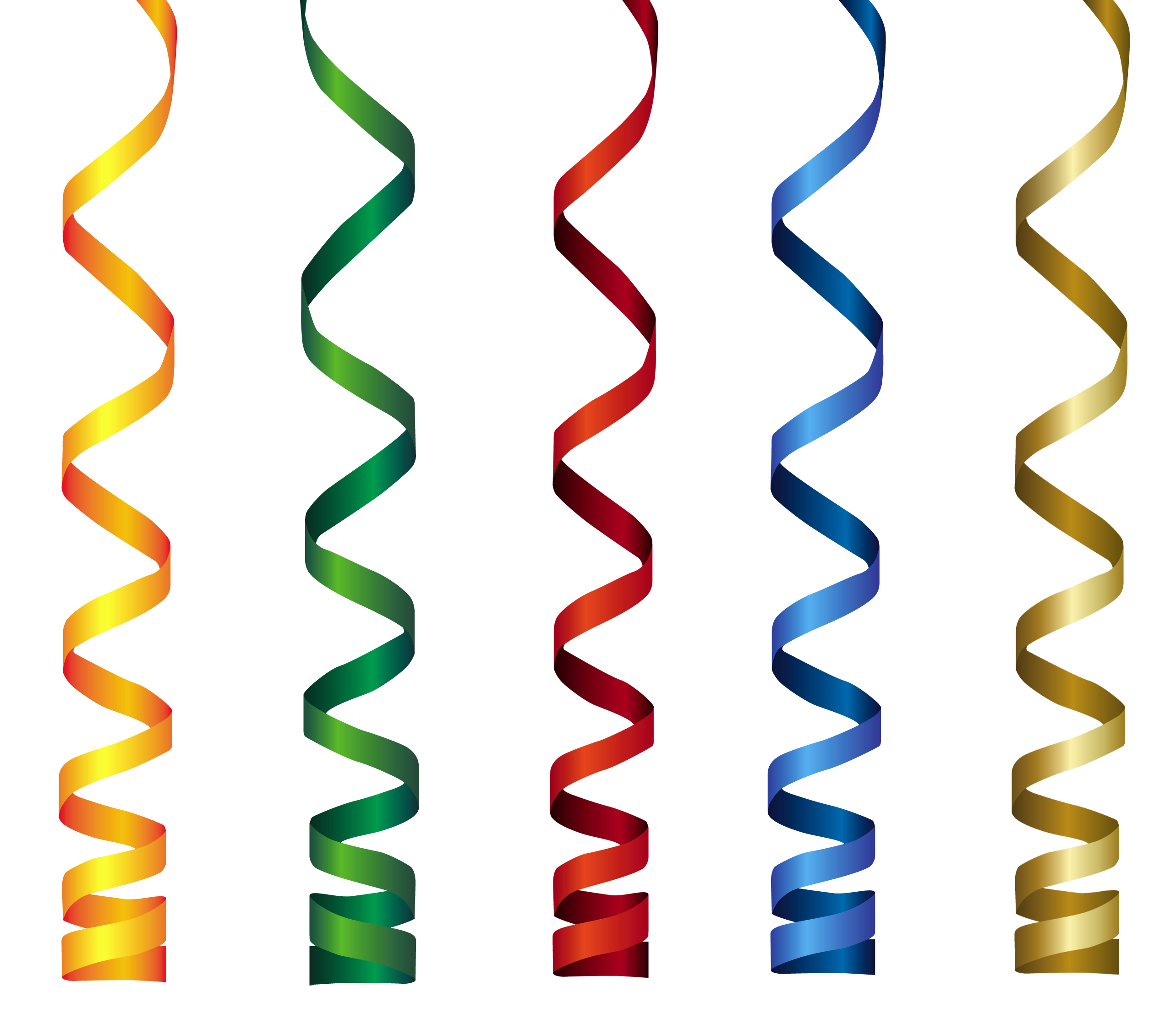 image free download Ribbons transparent png clip. Curly clipart