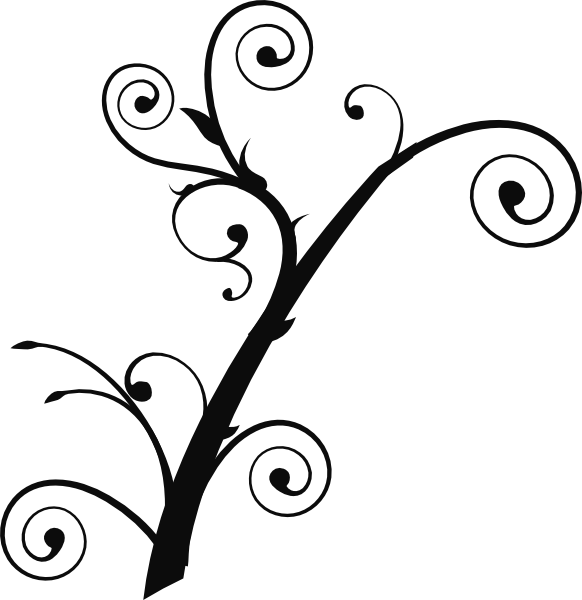 png free download Curly clipart clip art. Tree at clker com