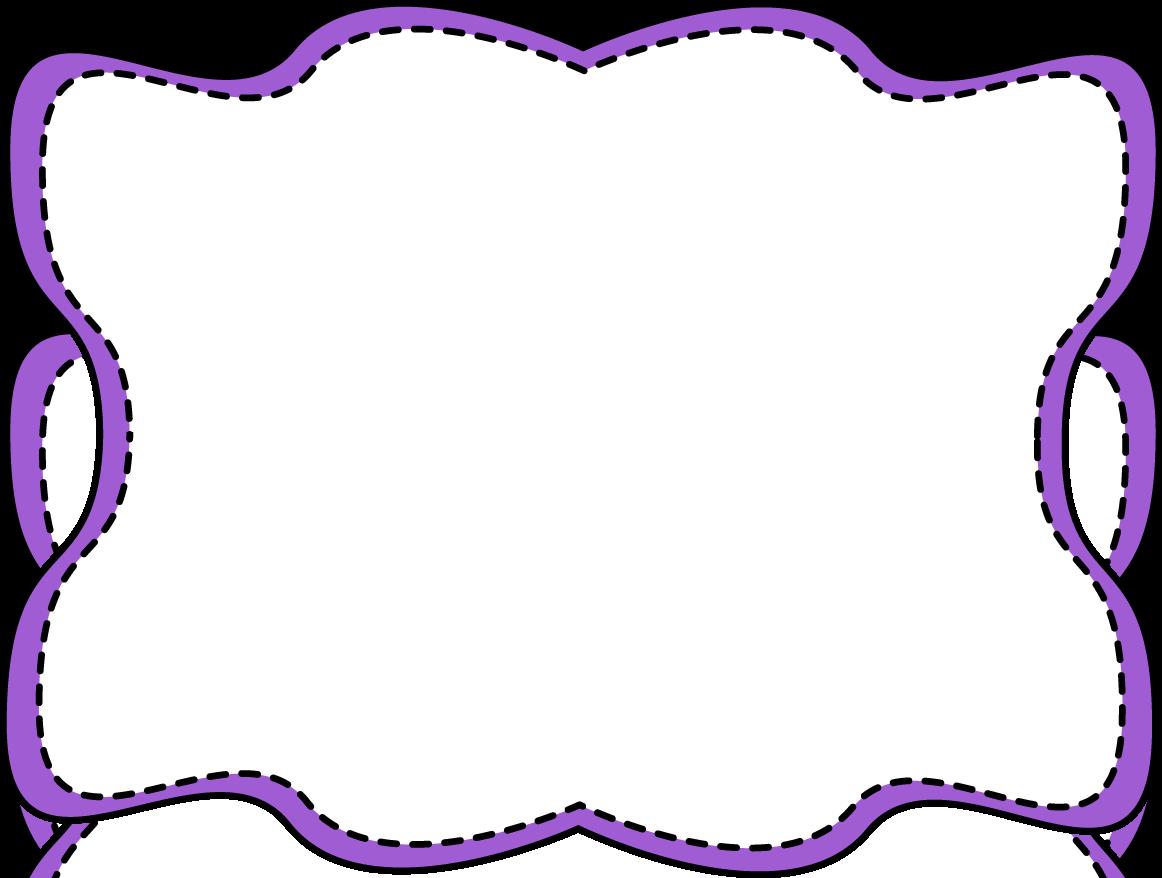 jpg freeuse stock Violet clipart border. Purple clip art wavy.