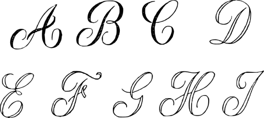 graphic library Cursive Letter Clipart