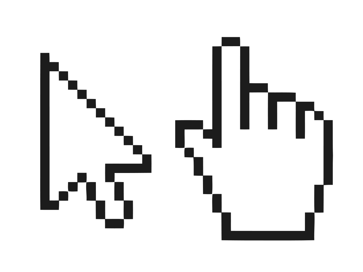 graphic freeuse download Vector computer clicker. Pointer user interface wikipedia