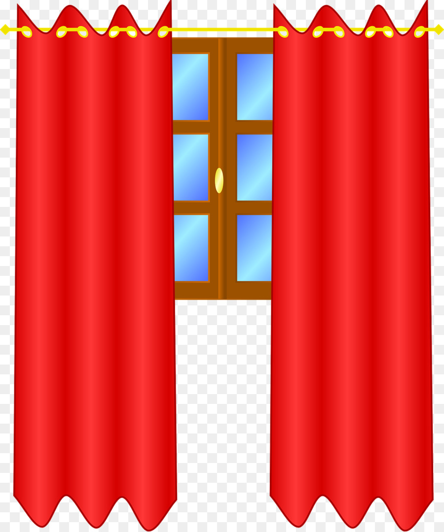 vector free download Curtain clipart. Window cartoon red transparent
