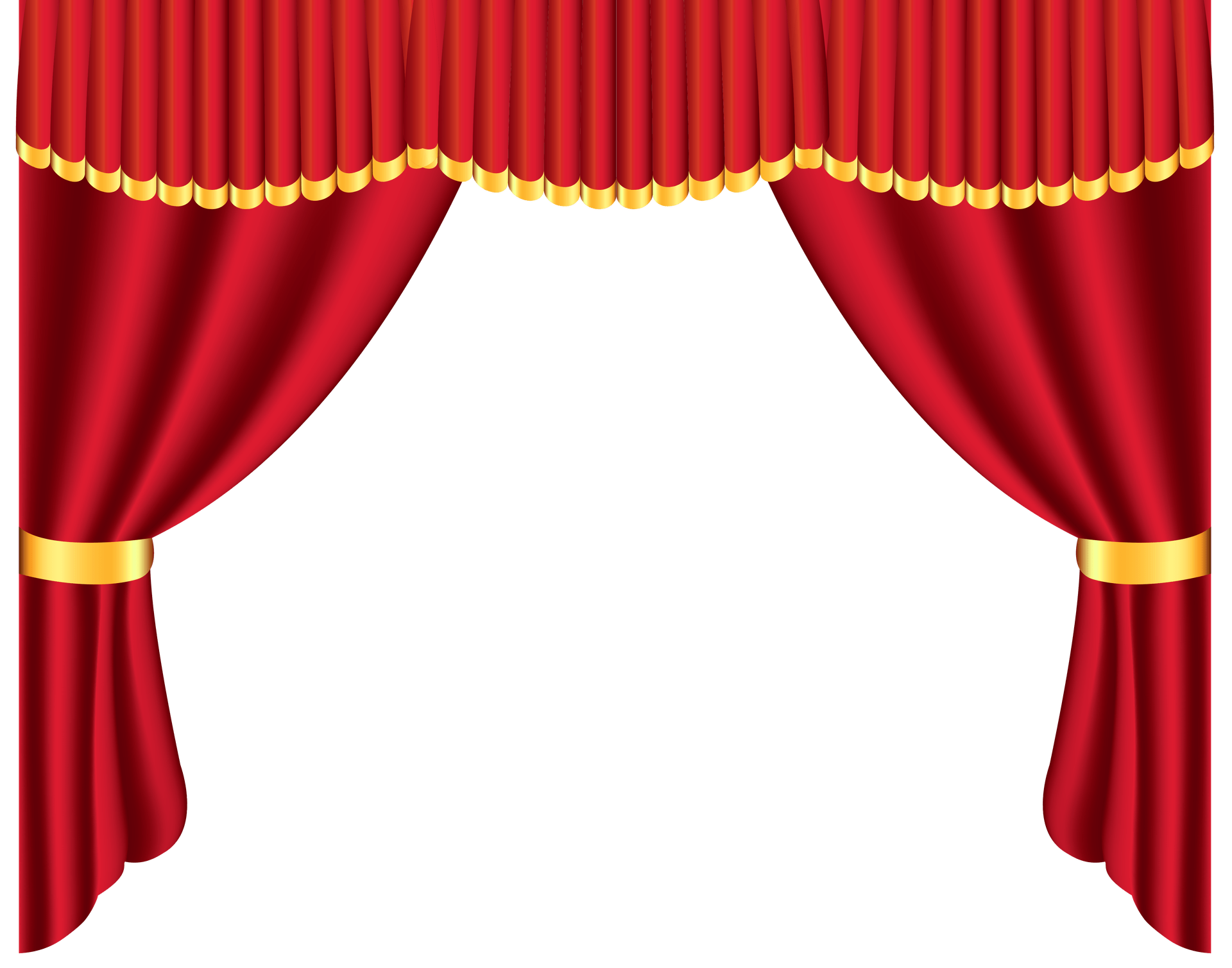 banner transparent download . Curtain clipart curtain raiser