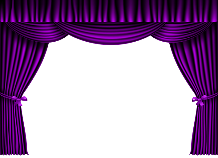 black and white stock Curtain clipart curtain raiser. Gif www cintronbeveragegroup com
