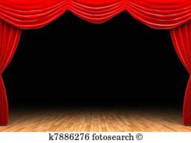 image black and white Curtain clipart curtain raiser. Free download clip art