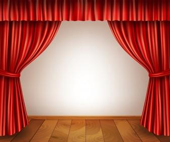 banner library stock Curtain clipart curtain raiser. Portal