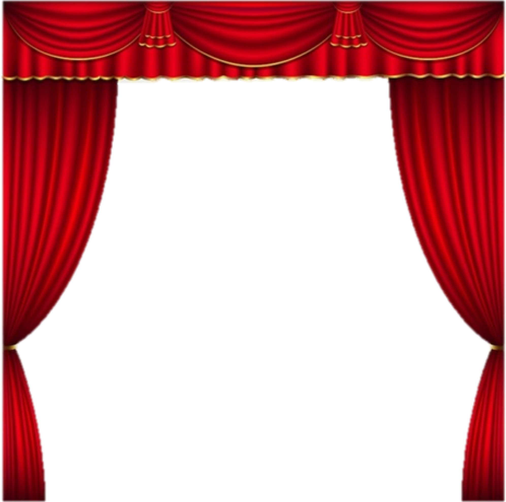 svg freeuse stock Cropped curtains theater clip. Curtain clipart curtain raiser
