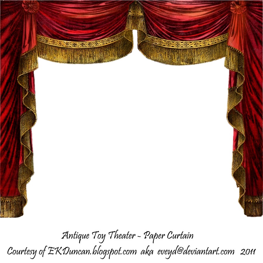 svg royalty free stock Paper Theater Curtain