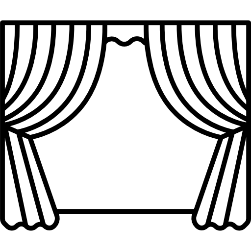 clip library download Curtains Icon