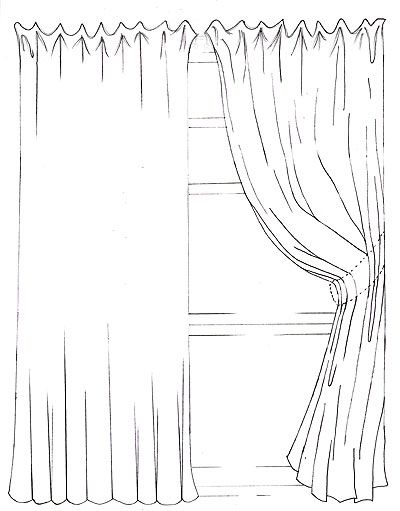 banner transparent curtain drawing cool #135634030