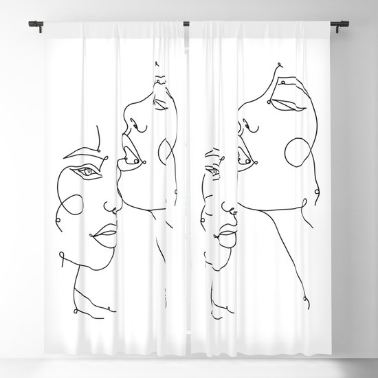 clip art transparent Two Abstract Faces Drawing