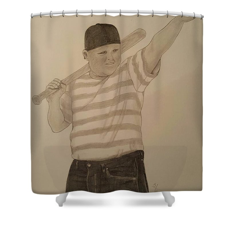 clip art library stock Sandlot Sultan Shower Curtain