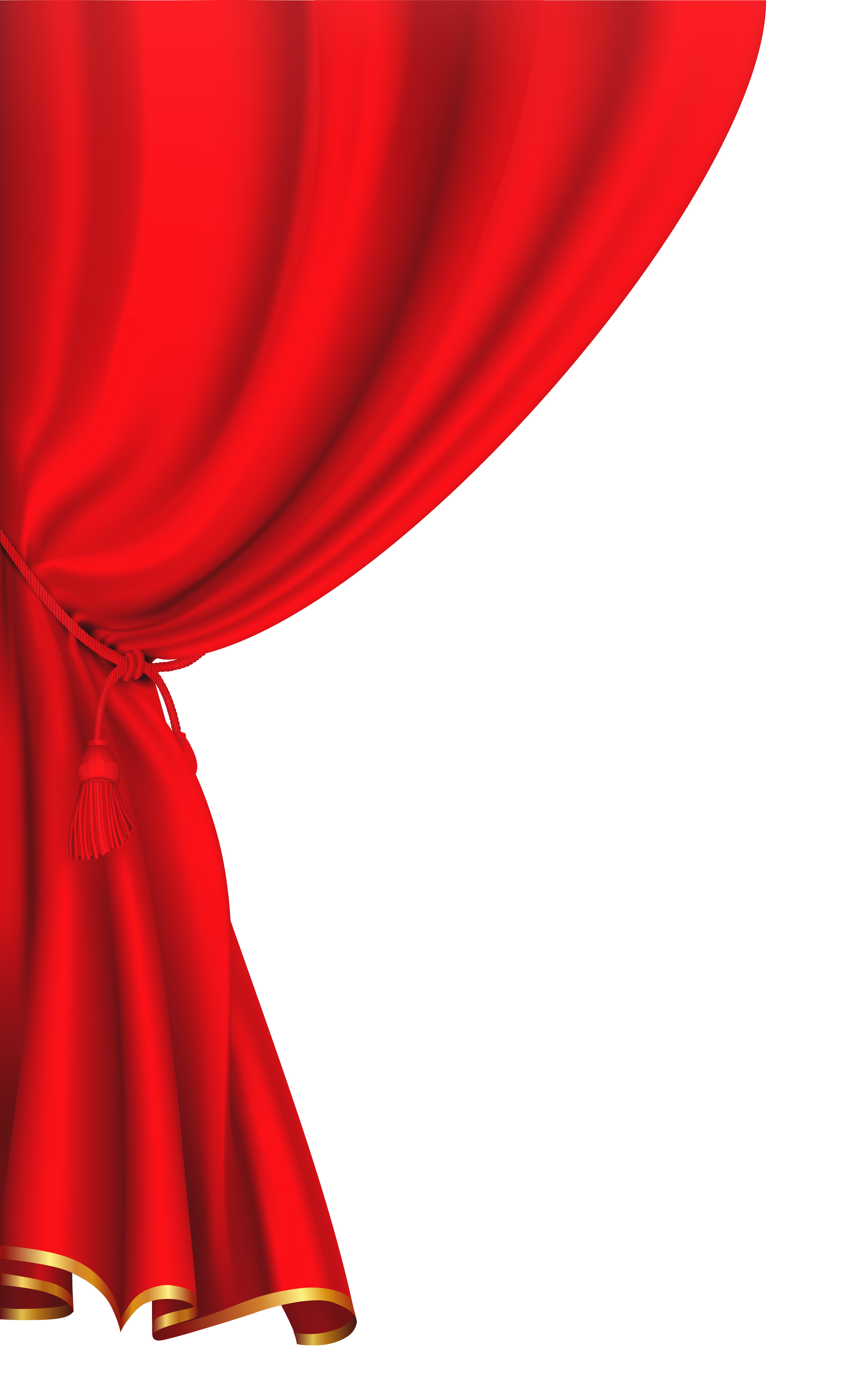 vector royalty free Red curtain image buda. Curtains clipart.