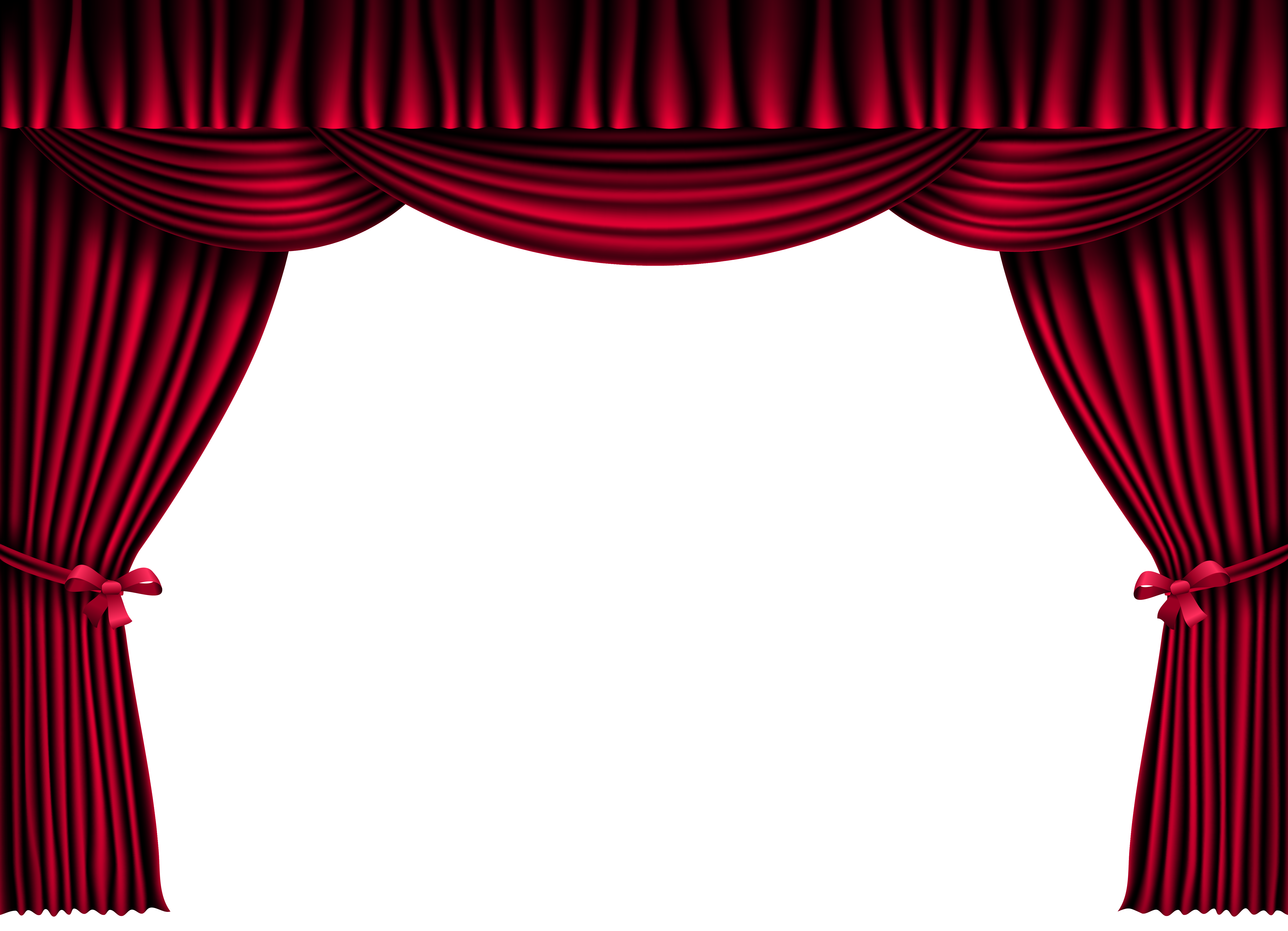 clip art library stock Png . Curtains clipart