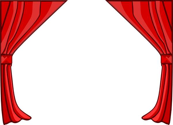 png transparent Just Red Curtains Clip Art at Clker