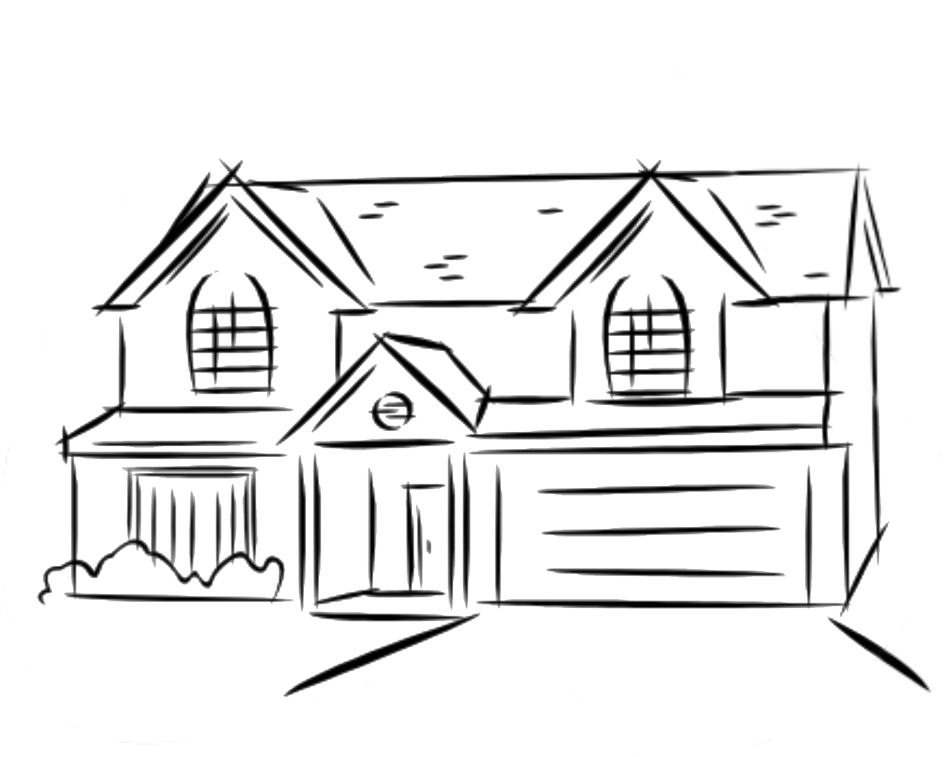 clip royalty free stock Stunning Easy House Drawing