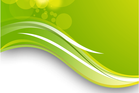 banner download Green vector flowing. Abstract background png k