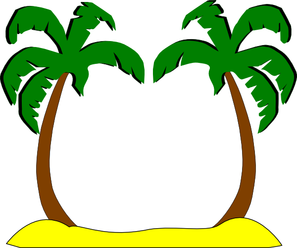 png free stock Images of Palm Trees Clip Art Border
