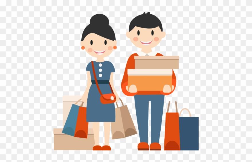 banner free Marketing target shopping men. Customer clipart.