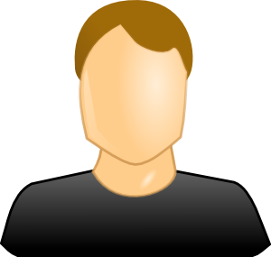 royalty free download Customer clipart. Male