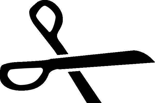 vector free stock Scissors Black Silhouette Clip Art at Clker