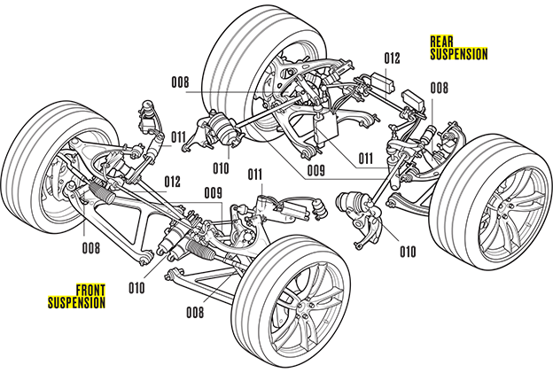 freeuse cutaway drawing ford gt #111167126