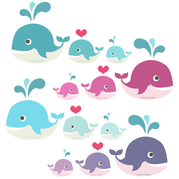 banner library download Portal . Cute baby whale clipart