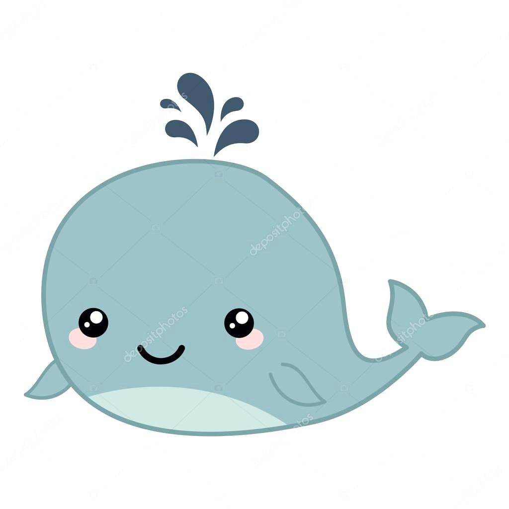 jpg royalty free stock Cute baby whale clipart. Depositphotos stock illustration cartoon