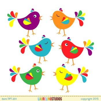 banner free Clip art colorful bird. Cute birds clipart